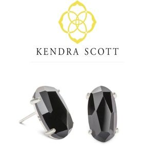 ▪︎ Kendra Scott▪︎Black Betty Stud Earrings